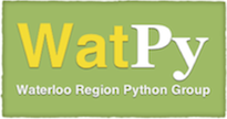 WatPy: Waterloo Region Python Group